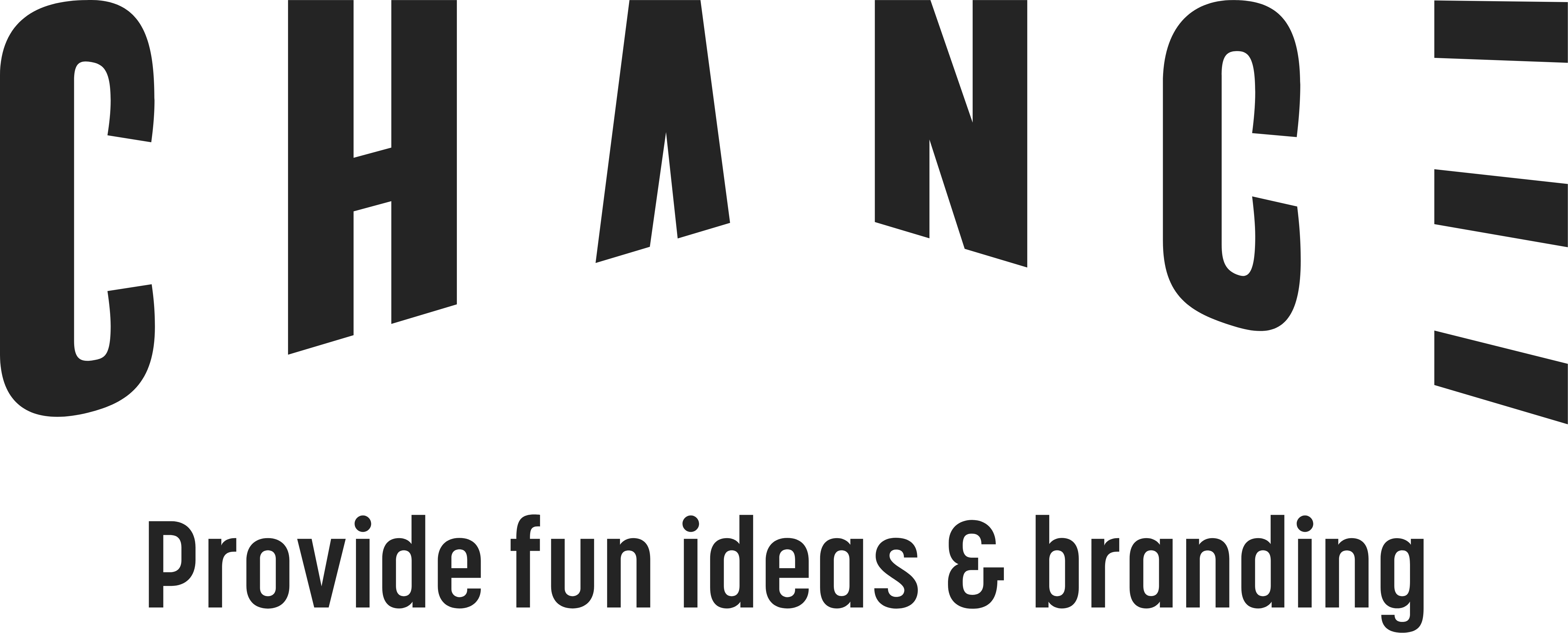 CHANCE Provide fun ideas branding